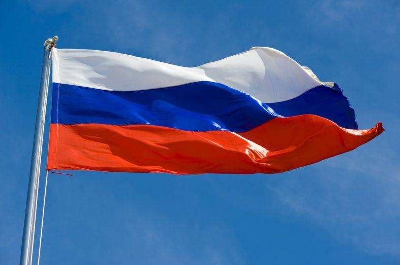Russland Flagge